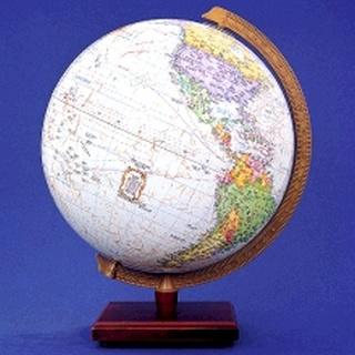 세계로 한지 지구본 270-KP