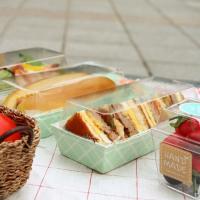 샌드위치 체크민트 포장 케이스 (5세트)