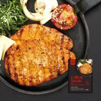 [원더그린] 감동닭 닭가슴살 스테이크 깻잎치즈 8팩