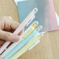 우주선 귀여운 동물 캐릭터 볼펜 4종 특이한 판촉 펜