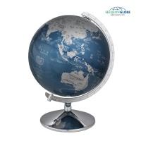[서전지구] 장식용 블루메탈 지구의 SJ-260-MS