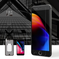 New리더스엠 아이폰8 강화유리 액정보호필름