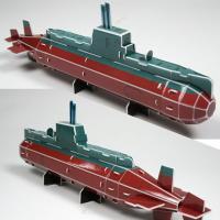 3D입체퍼즐 비밀병기 잠수함 [CK009]