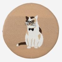 (Confiture) Dapper Seat Cushion - Cat
