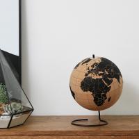 15.5cm 코르크 지구본