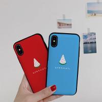 아이폰X/XS 루나 수박 카드케이스