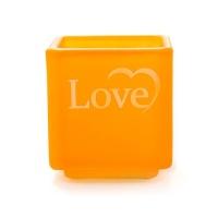 [디타니] 러브 캔들홀더 - 오렌지