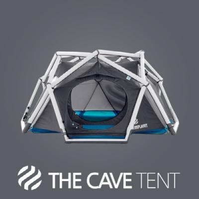 [HEIMPLANET] 하임플래닛 더 케이브 그레이블루 에어빔 텐트 3인용 / 펌프별도구매