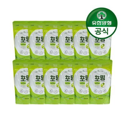 [유한양행]주방세제 포밍 스프레이 리필 500ml 12개