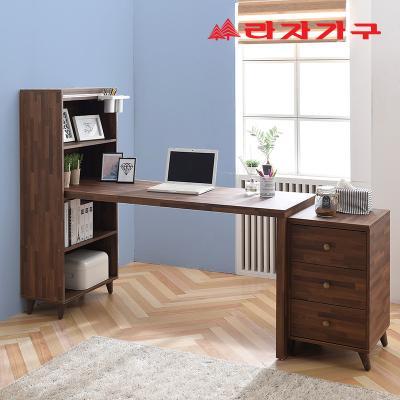 무노 H형 책상+서랍장 세트 1200
