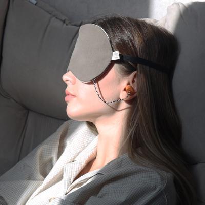 수면 들리면 안대 귀마개 일체형 세트 냉온 찜질 안대