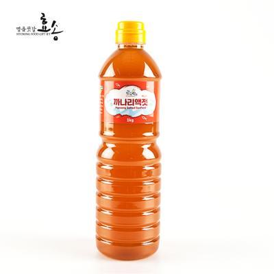 군산 효송 젓가락 까나리액젓 1kg