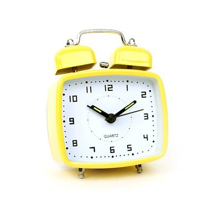 미니 프레임 알람 시계 - 옐로우