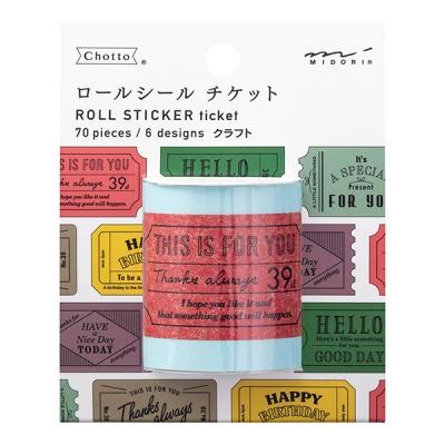 Roll Sticker - Ticket Craft