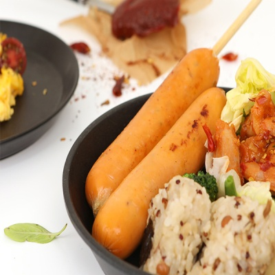 [허닭] [BEST] 닭가슴살 소시지 후랑크 불닭 70g
