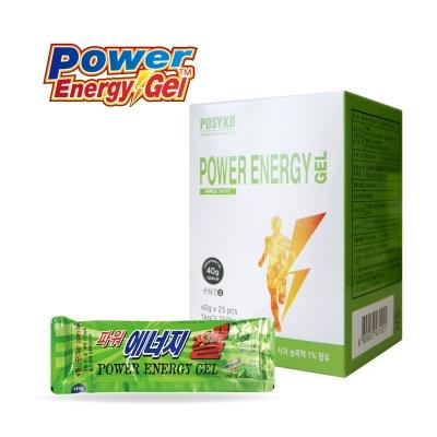 [파시코] 파워에너지젤(사과맛) 25개입 에너지음료