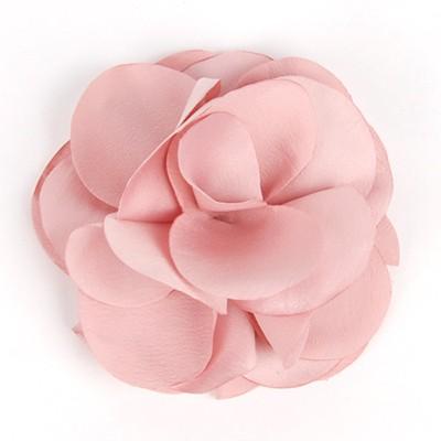 [헤어보우] Lovely Flower 헤어핀-Indi Pink