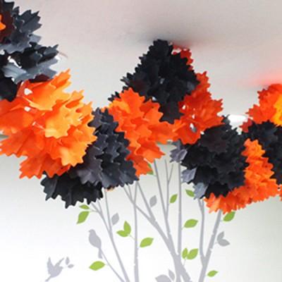 오렌지&블랙 가랜드