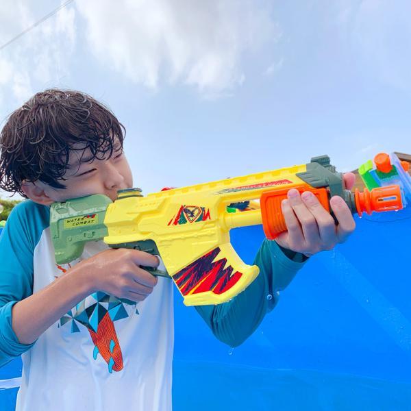파워 물총 대형 워터건 (W08. 머신건 소커)