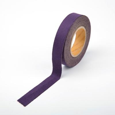 [홀리코] 10color 스웨이드 접착 테이프 - 진보라
