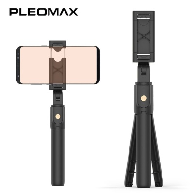 PLEOMAX 삼각대 셀카봉 (블랙) (BTSF 100)