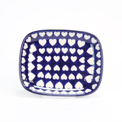 폴란드그릇 아티스티나 라운드직사각/소 패턴375J