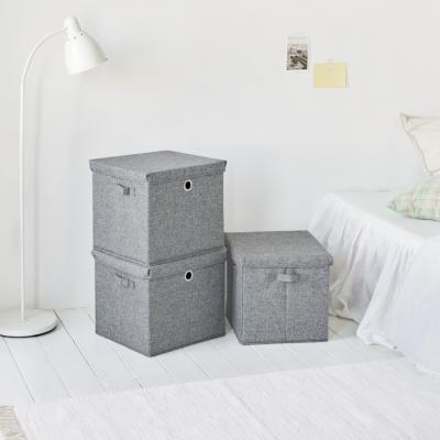 [1+1] 유닛 큐브 박스 - 스톤그레이