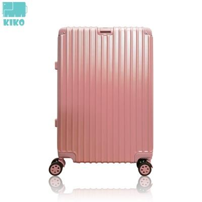 [KIKO] ABS+PC/하드 바오 캐리어 핑크/화이트