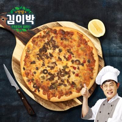 이경규의 돌판오븐 피자 2종 (불고기,콤비네이션) 2판
