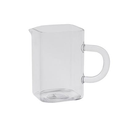 [로하티]글로리 사각 유리숙우(200ml) / 공도배