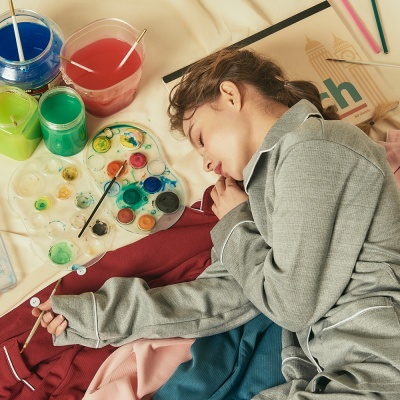 [오끼뜨] 나의 퍼스널 컬러 골지 파자마세트 9color