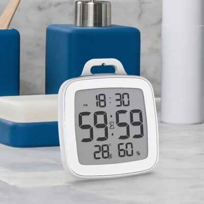 유즈비 발디알 욕실용 온습도시계 타이머 시간 방수