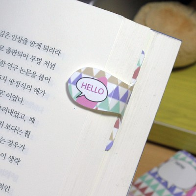 [플라스틱 and 자석 자동책갈피] 자동책갈피 수지인 : 핑크토끼