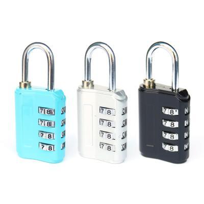 [티큐브] 여행용 4다이얼 안전자물쇠