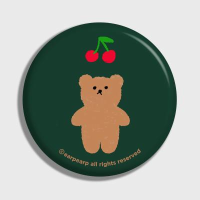 Cherry big bear-dark green(거울)