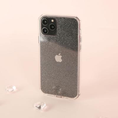 아이폰11프로맥스 글리터 범퍼 클리어 케이스