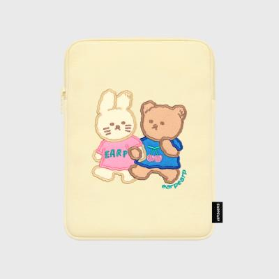 [04.26 예약발송] Nini friends-ivory-ipad pouch