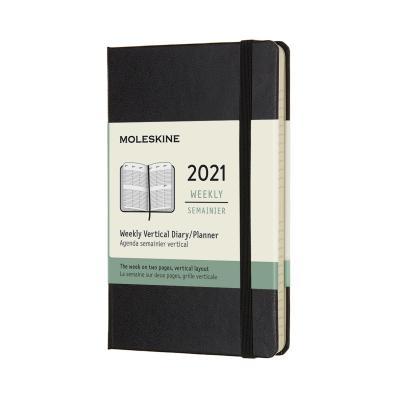 몰스킨 2021위클리(세로형)/블랙 하드 P