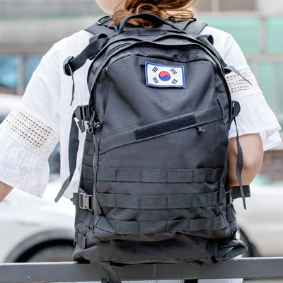[패치증정] 남녀공용 백팩 3Days 등산가방/여행가방