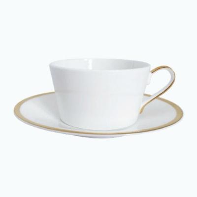 [TwigNY] 골든엣지 골든베이 커피잔&소서