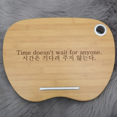 쿠션독서대 책받침대 휴대용 [문구각인]