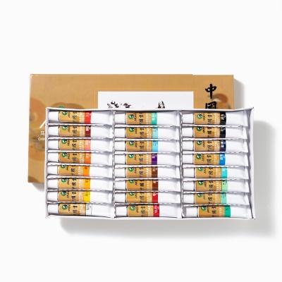 민화 동양화 물감 12ml 12색 18색 24색 36색