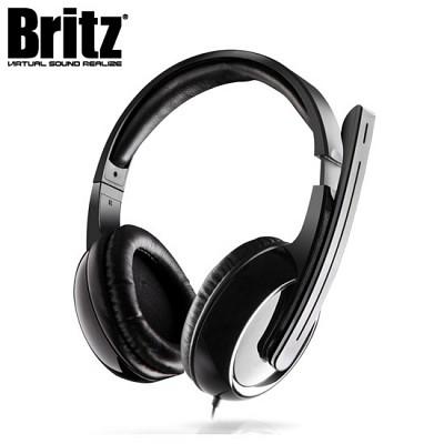 브리츠 헤드셋 K810 (마이크 / 마이크 뮤트 버튼 & 볼륨 조절 / 헤드밴드 / 회전식붐)