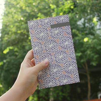 패턴핸디노트_국화꽃 향기