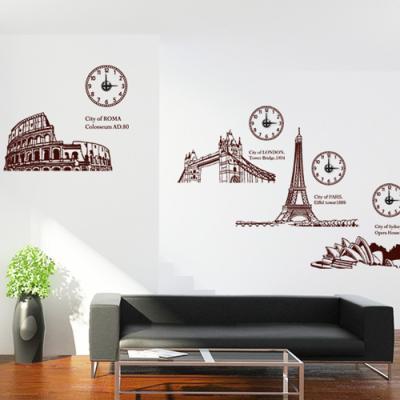 ih584-City of time(도시의시간)_그래픽시계