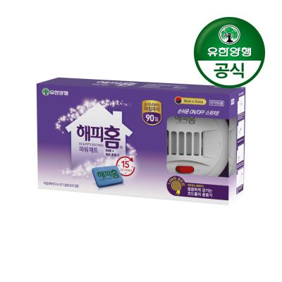해피홈 New 파워매트형 전기훈증기+리필 90매