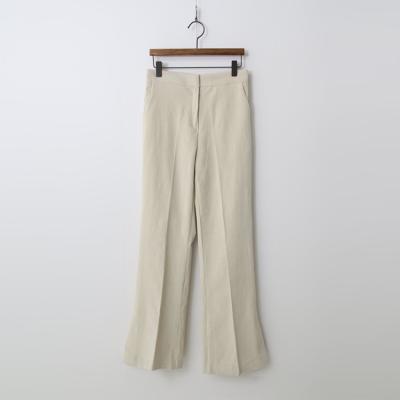 Corduroy Slit Flare Pants