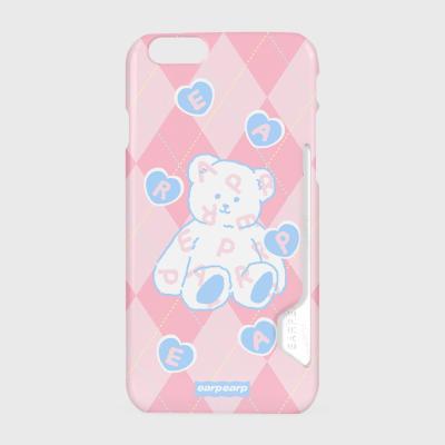 Soft bear-pink(카드수납케이스)