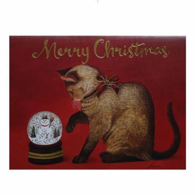크리스마스 카드 SNOWY WONDER