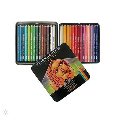 프리즈마 입시미술 학생 전문가용 유성색연필 48색